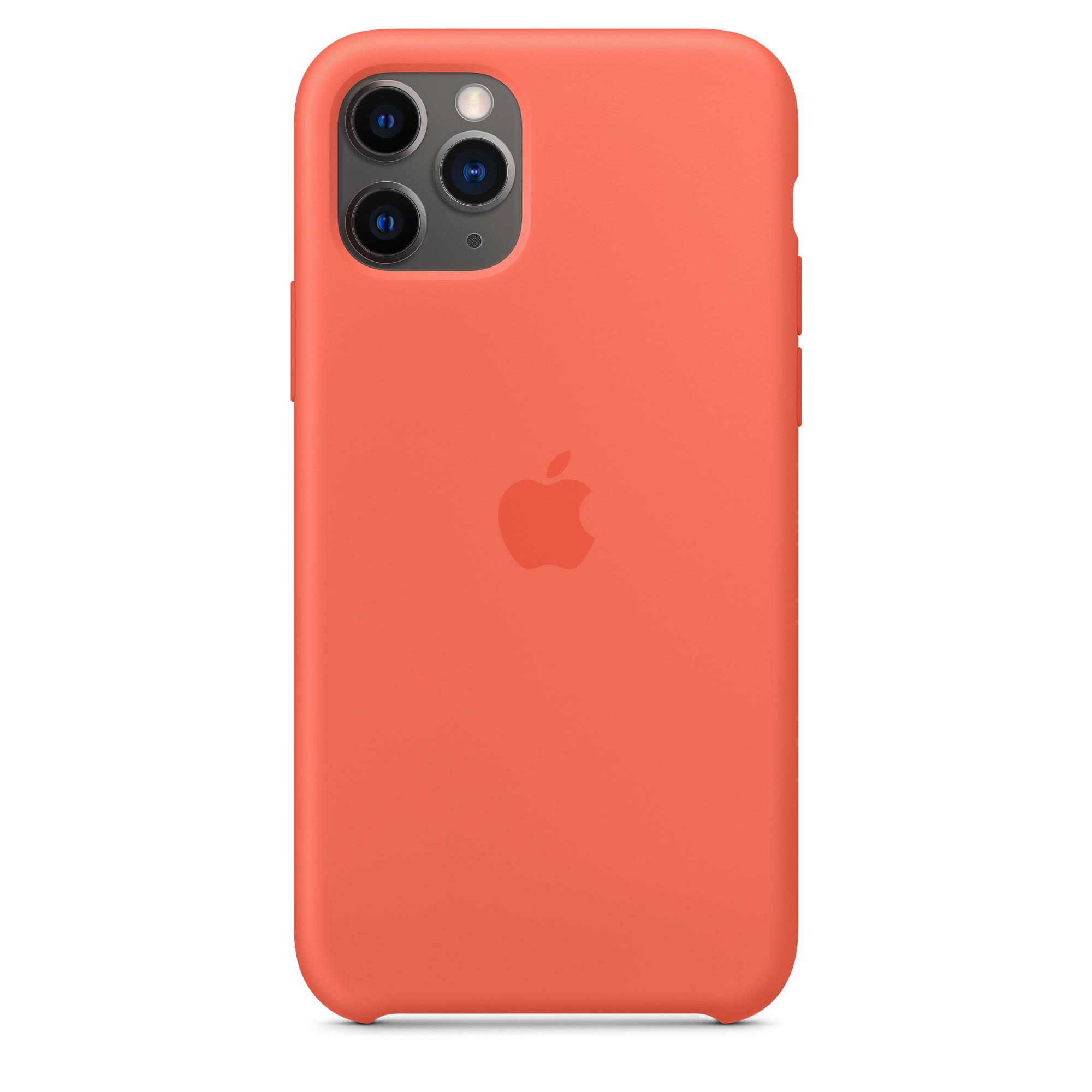 Étui en silicone pour iPhone 11 Pro - Clémentine
