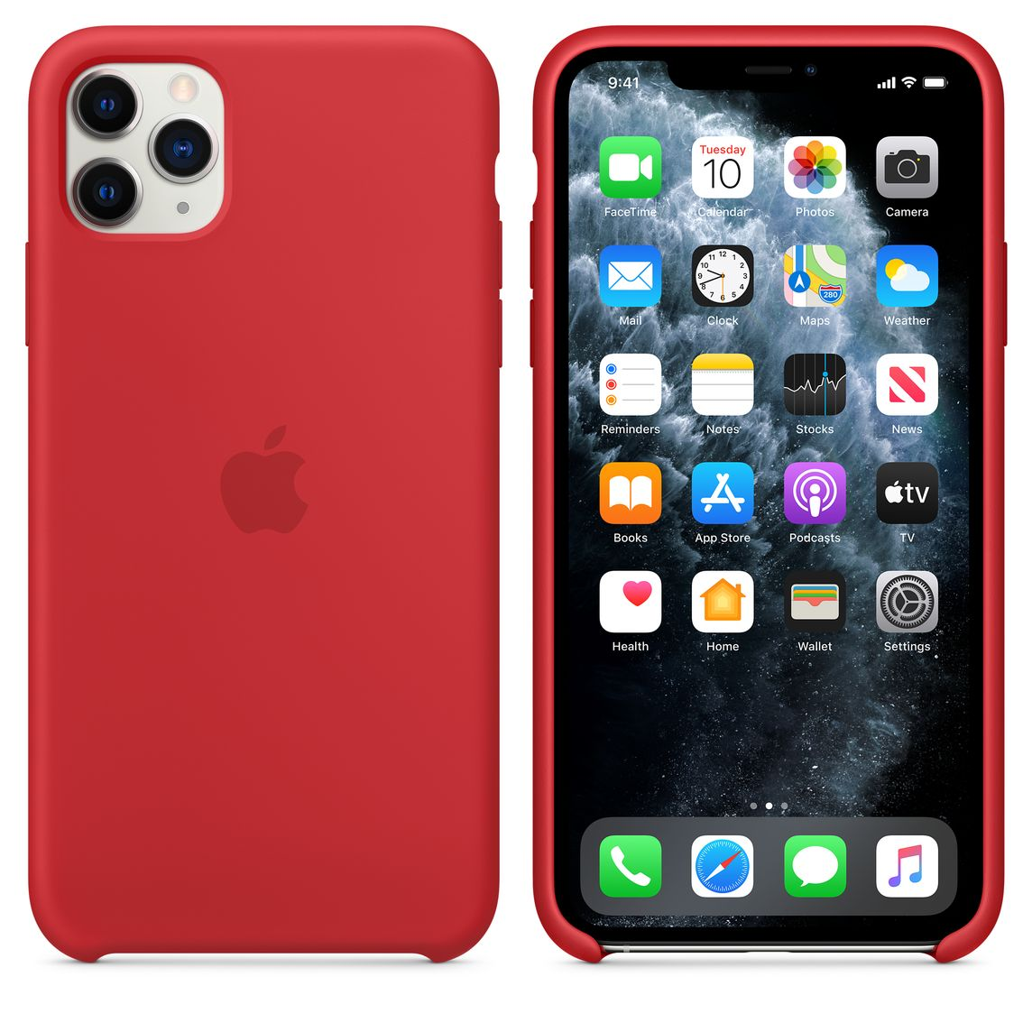 Iphone 11 Pro Max Silicone Case Product Red Apple Ca This iphone 11 is certified refurbished. iphone 11 pro max silicone case product red