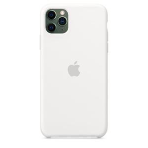 Capa De Silicone Para Iphone 11 Pro Max Branco Apple Br
