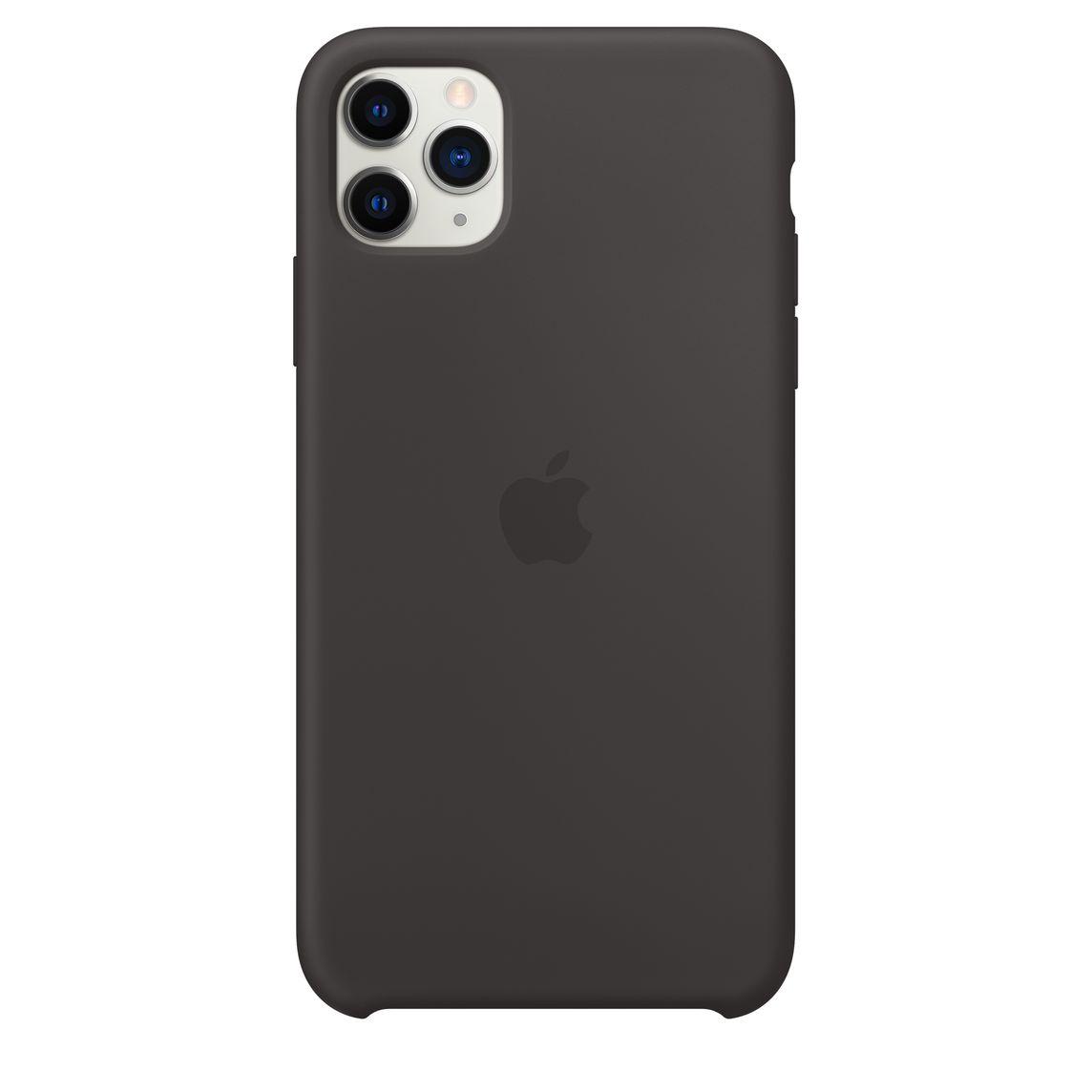 Iphone 11 Pro Max Silicone Case Black Apple