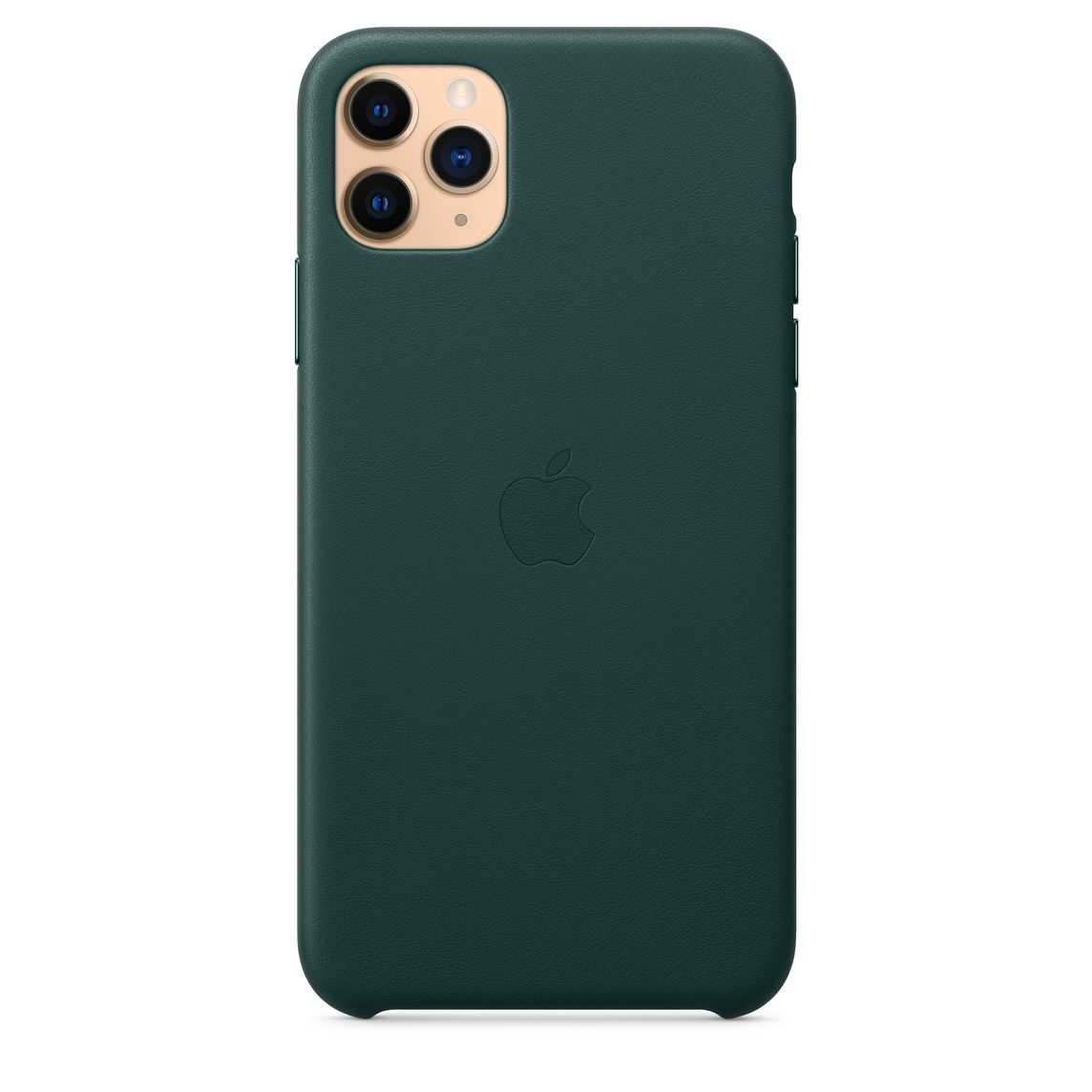 iPhone 11 Pro Max Leather Case Forest Green