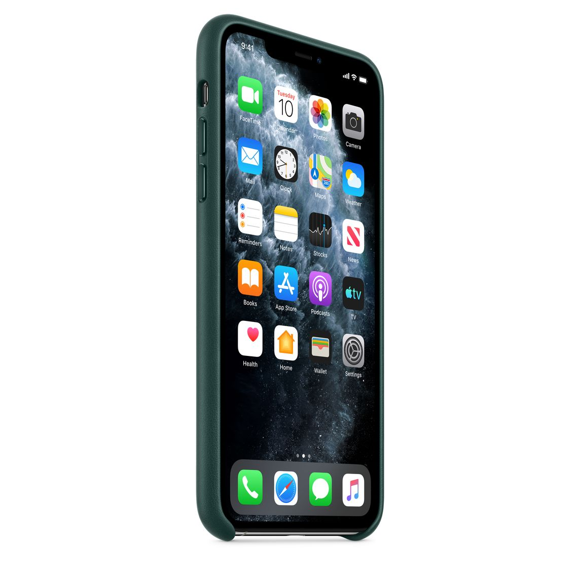 Iphone 11 Pro Max Leather Case Forest Green Apple Ca