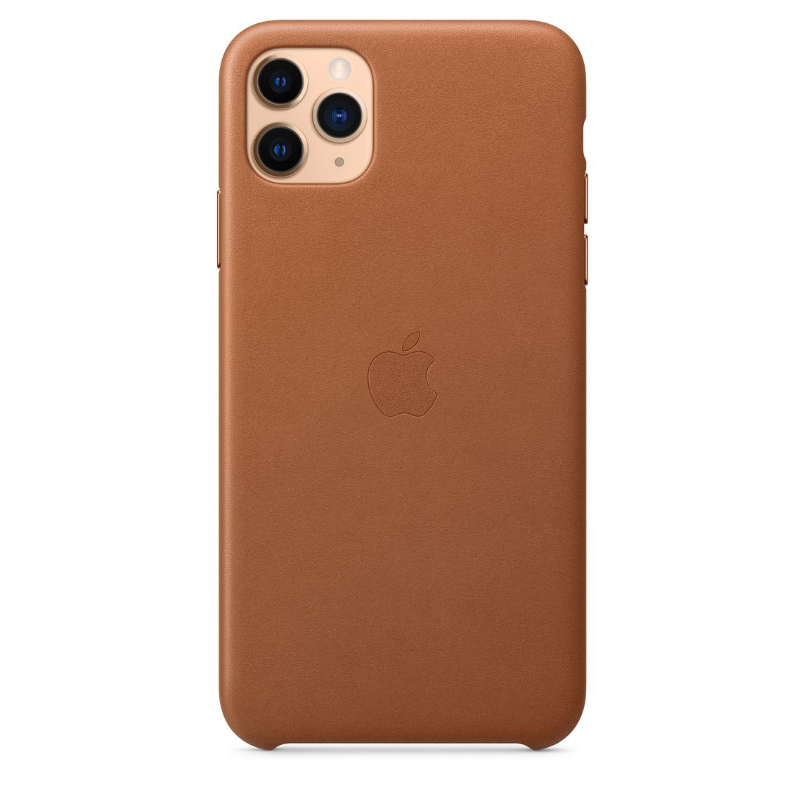 iPhone 11 Pro Max Leather Case Saddle Brown
