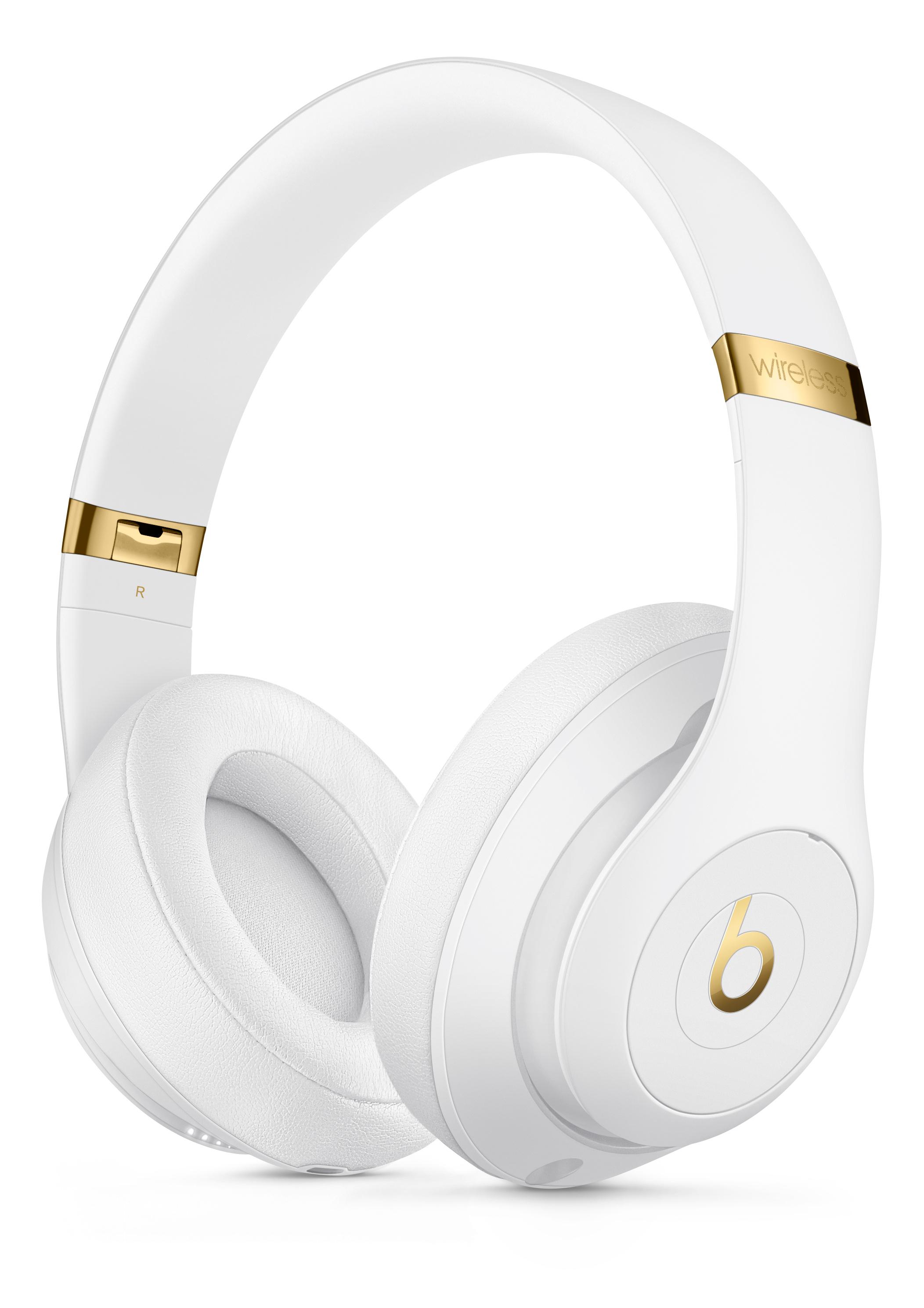 Beats Studio3 Wireless Over Ear Headphones White Apple
