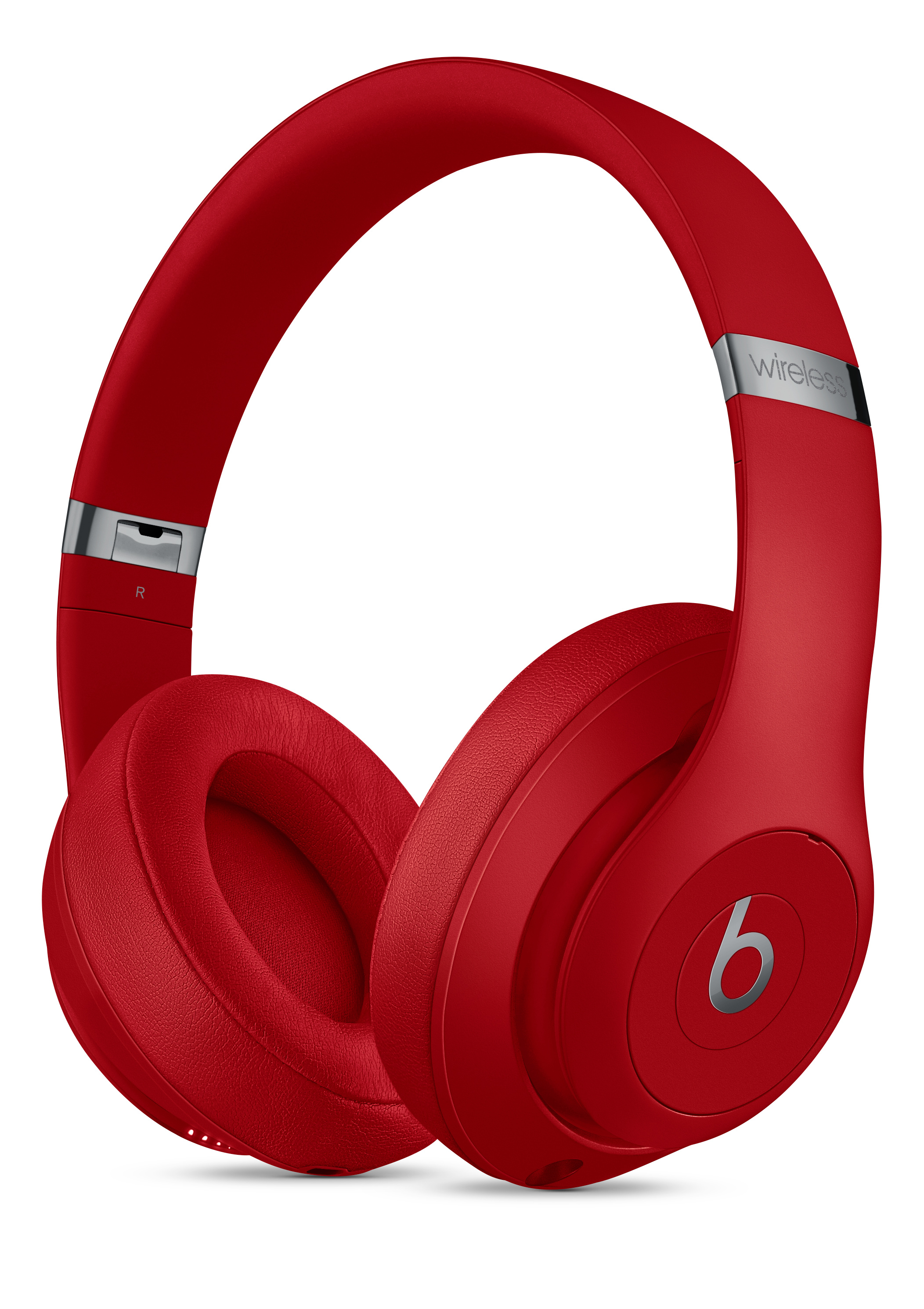 Beats Studio3 Wireless Over Ear Headphones Red Apple