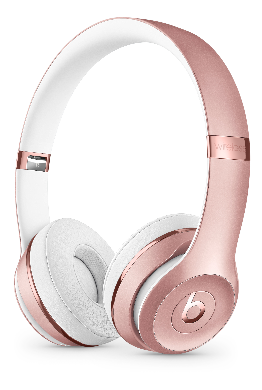 Beats Solo3 Wireless Headphones Rose Gold Apple