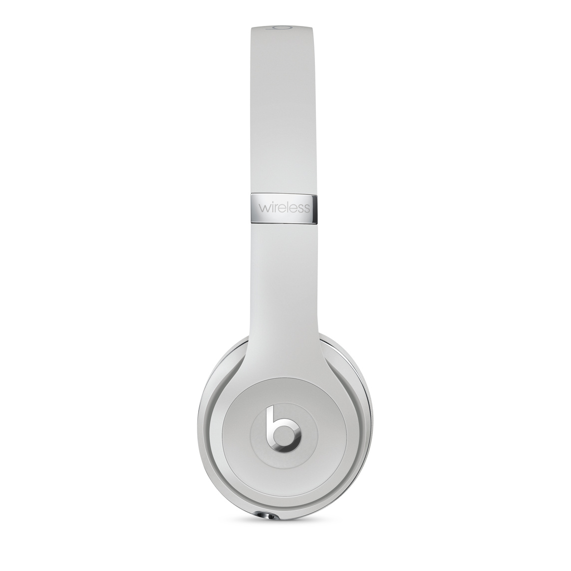 Beats Solo3 Wireless Headphones Satin Silver Apple