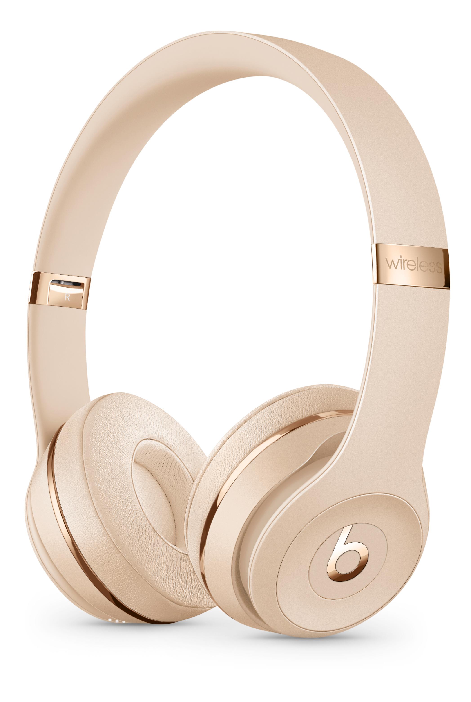 Beats Solo3 Wireless Headphones Satin Gold Apple