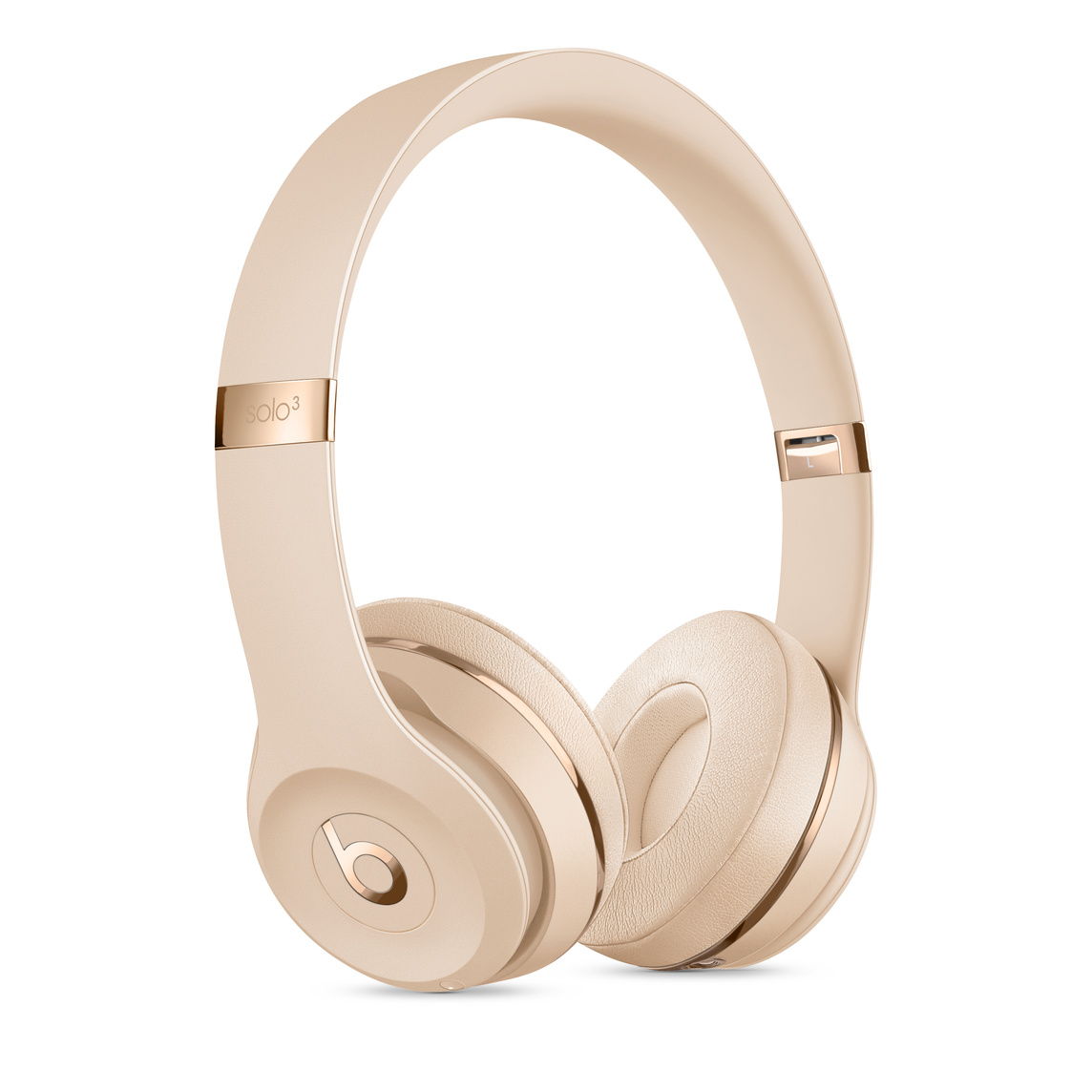 Beats Solo3 Wireless Headphones Satin Gold Apple