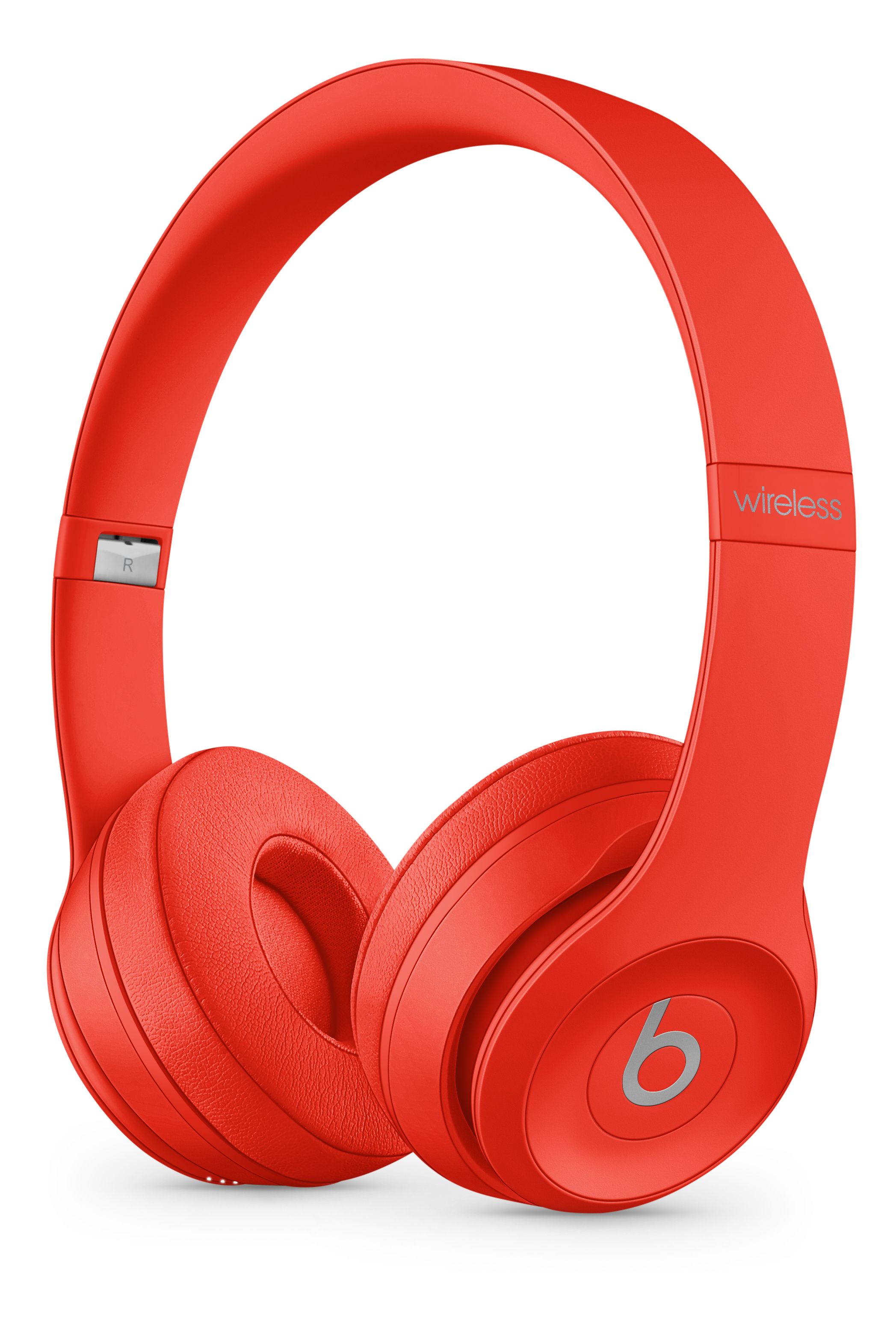 Beats Solo3 Wireless Headphones Red Apple