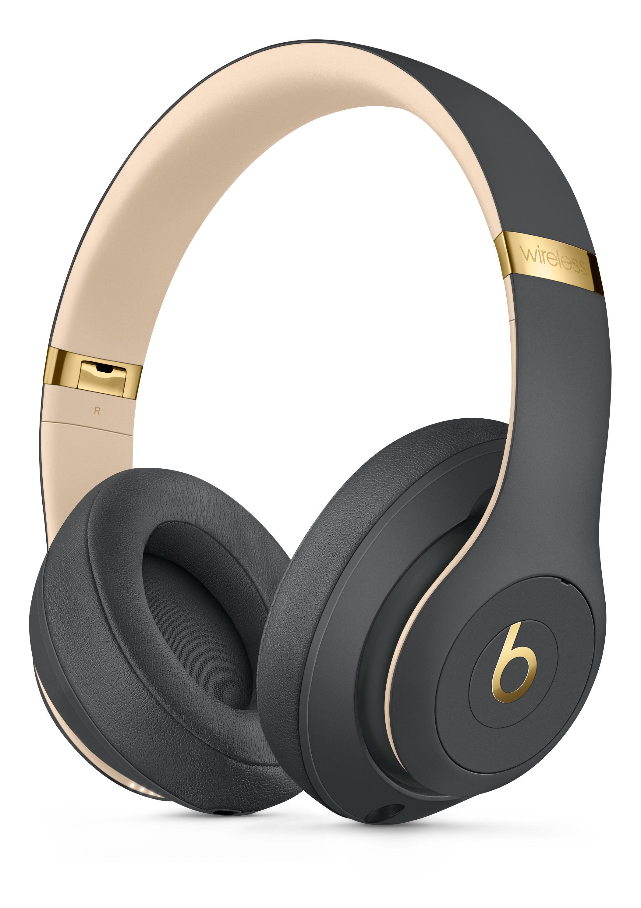 Beats Studio3 Wireless Over Ear Headphones Shadow Gray Apple