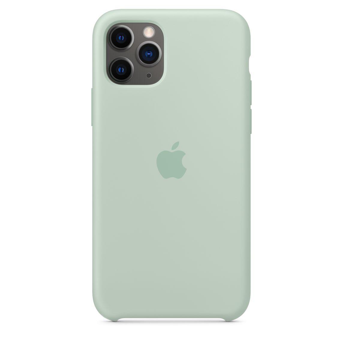 Étui en silicone pour iPhone 11 Pro - Aigue-marine