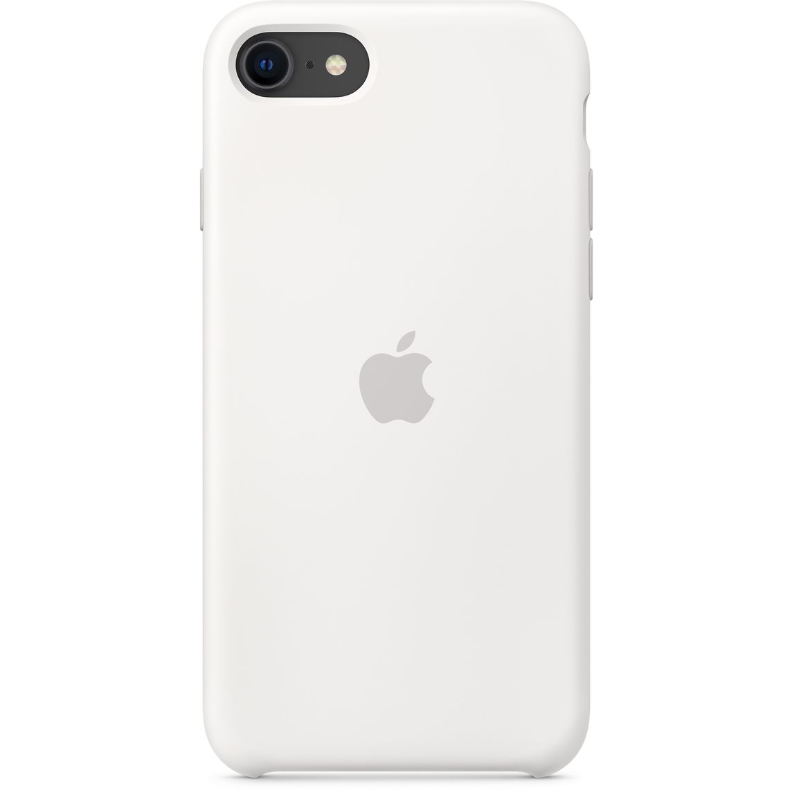 Iphone Se Silicone Case White Apple