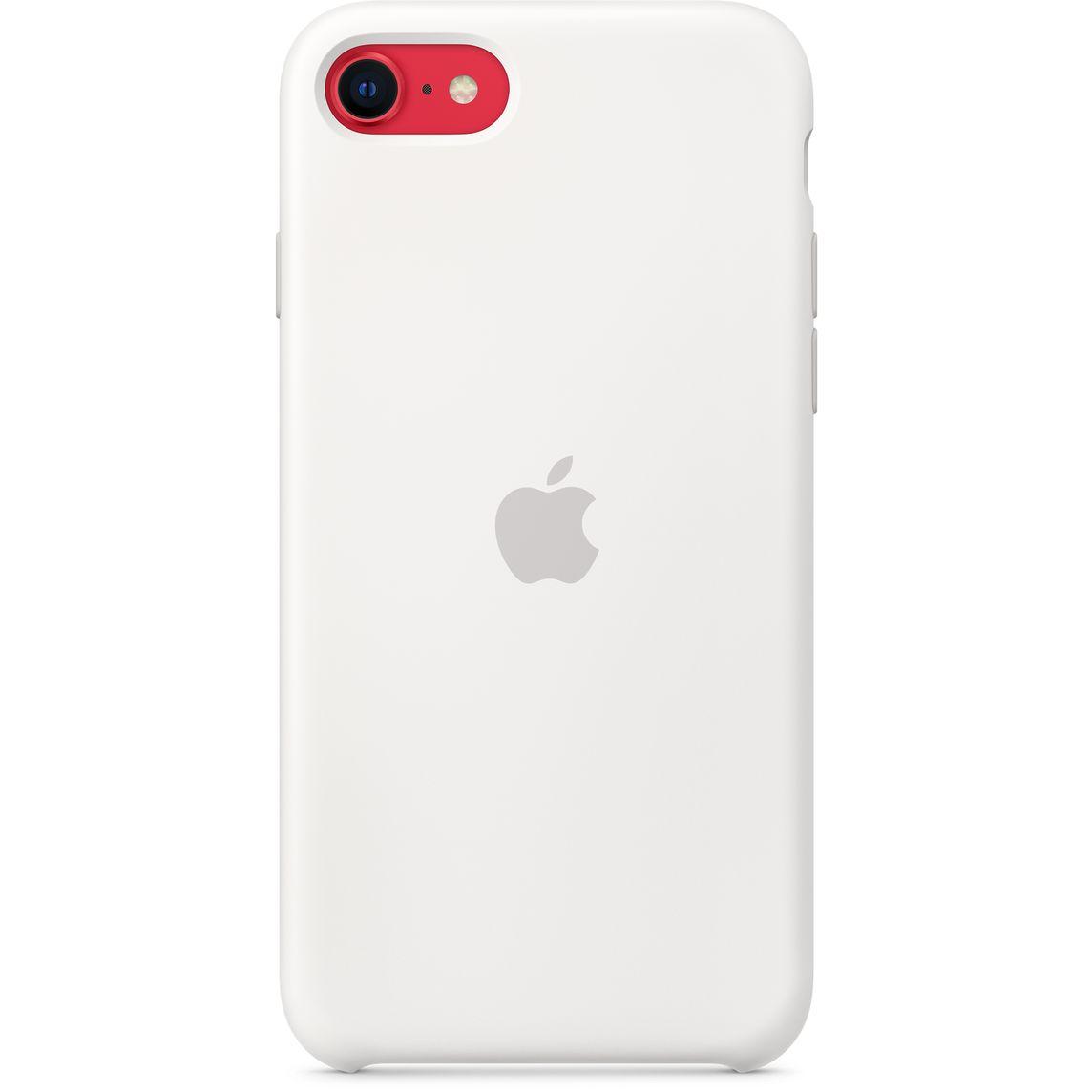iPhone SE Silicone Case - White