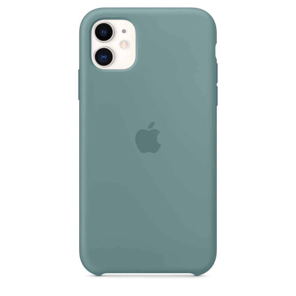 iPhone 11 Silicone Case - Cactus - Apple