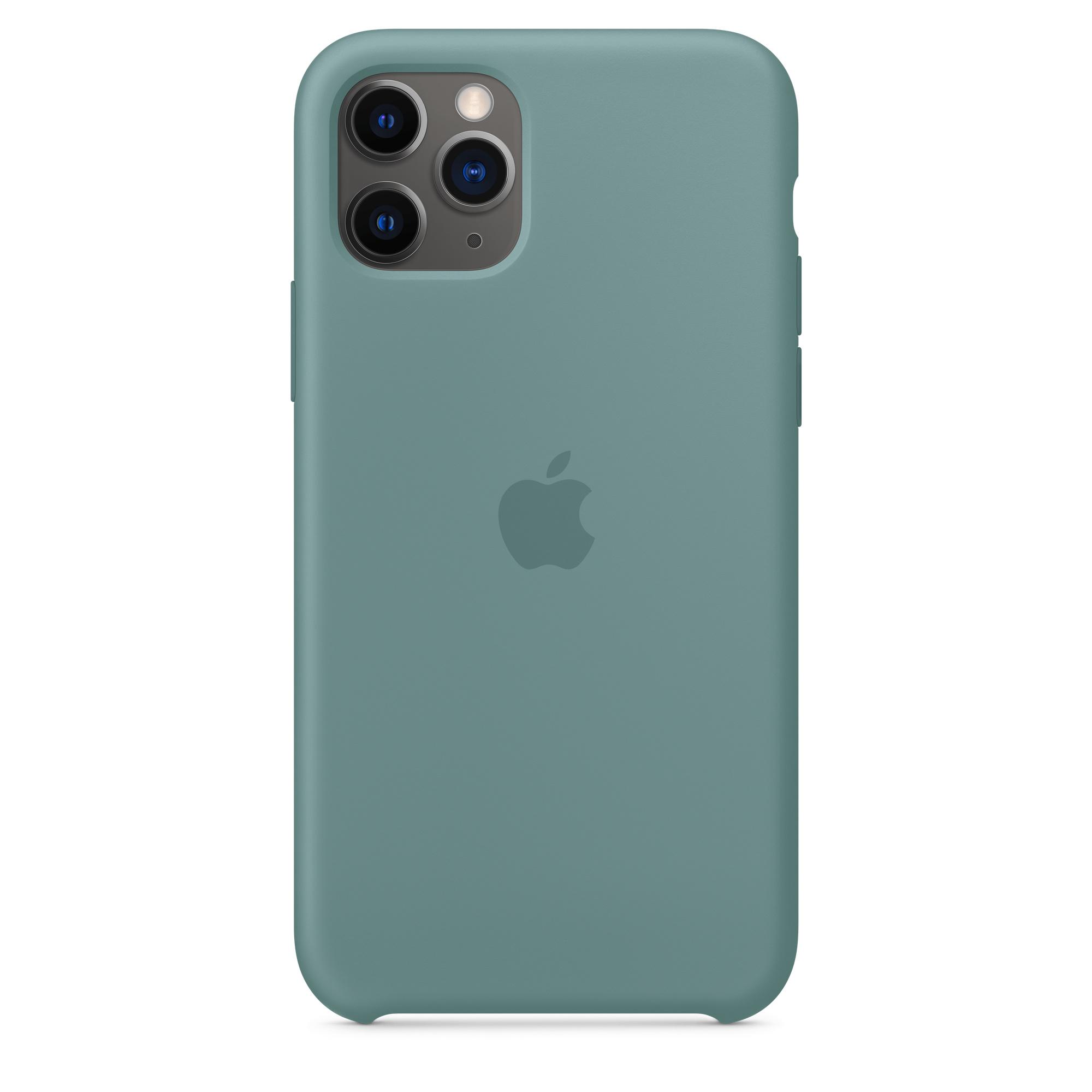 Étui en silicone pour iPhone 11 Pro - Cactus