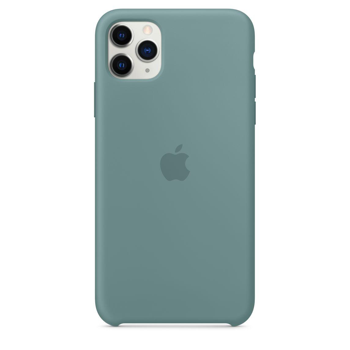 Iphone 11 Pro Max Silicone Case Cactus Apple