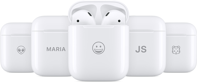 AirPods Charging Cases to Be Engraved