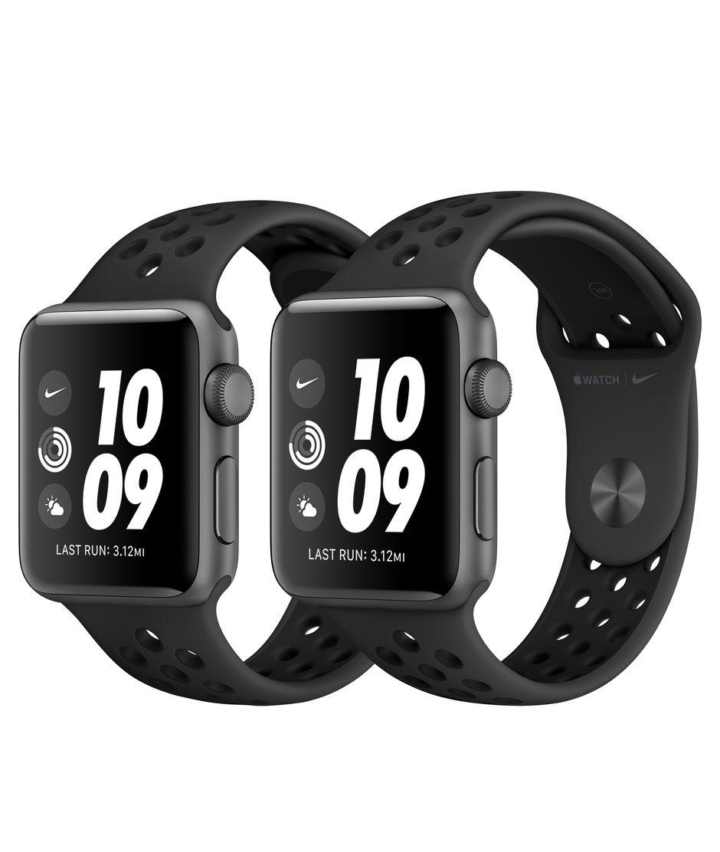 precios increibles zapatos clasicos forma elegante Apple Watch Nike Series 3 GPS, 38mm Space Gray Aluminum Case with ...