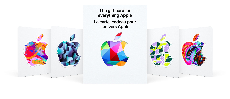 La carte-cadeau signée Apple