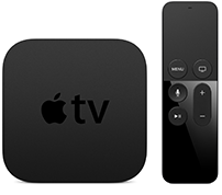 Answer questions about the Apple TV.