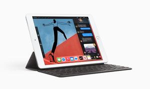 New Apple iPad Latest Model with AppleCare+ Bundle 10.2-Inch, Wi-Fi, 128GB - Silver