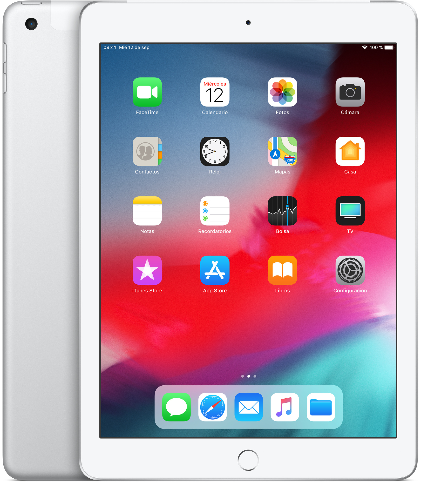 Calendario Fi.Ipad Con Wi Fi Cellular 128 Gb Color Plata