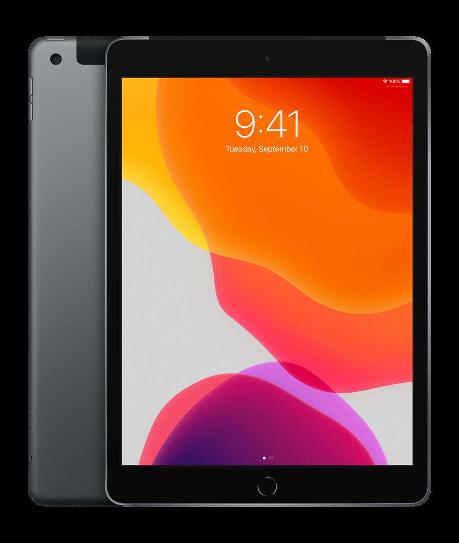 "Unlocked Apple iPad 6th Generation Wifi+Cellular 32GB 9.7/"" Space Gray"