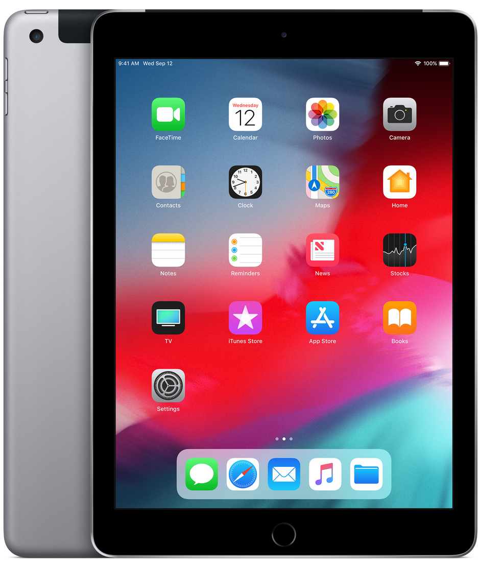 iPad Wi-Fi + Cellular 32GB - Space Gray