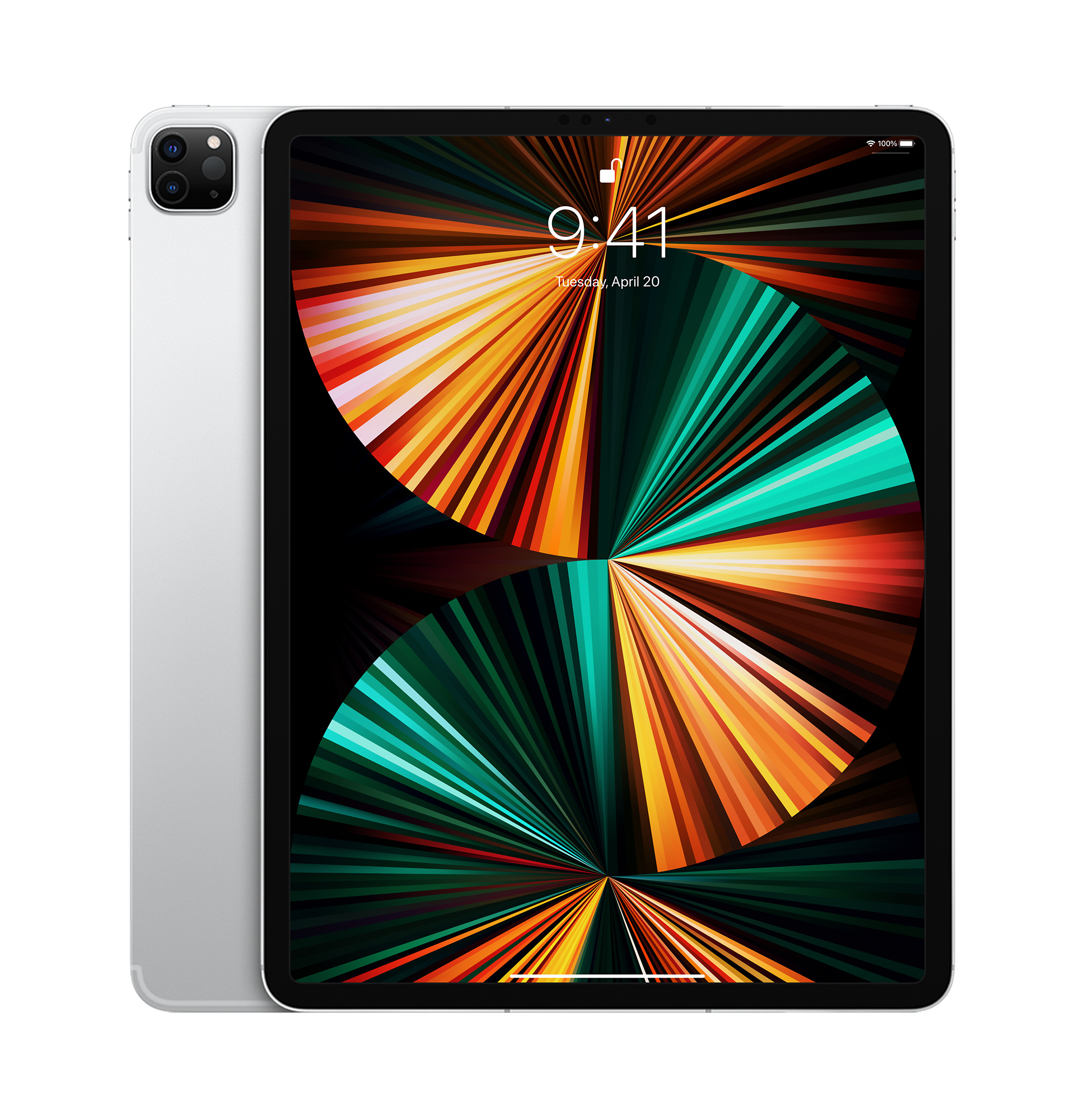 12.9-inch iPad Pro Wi-Fi + Cellular 256GB - Silver - Apple