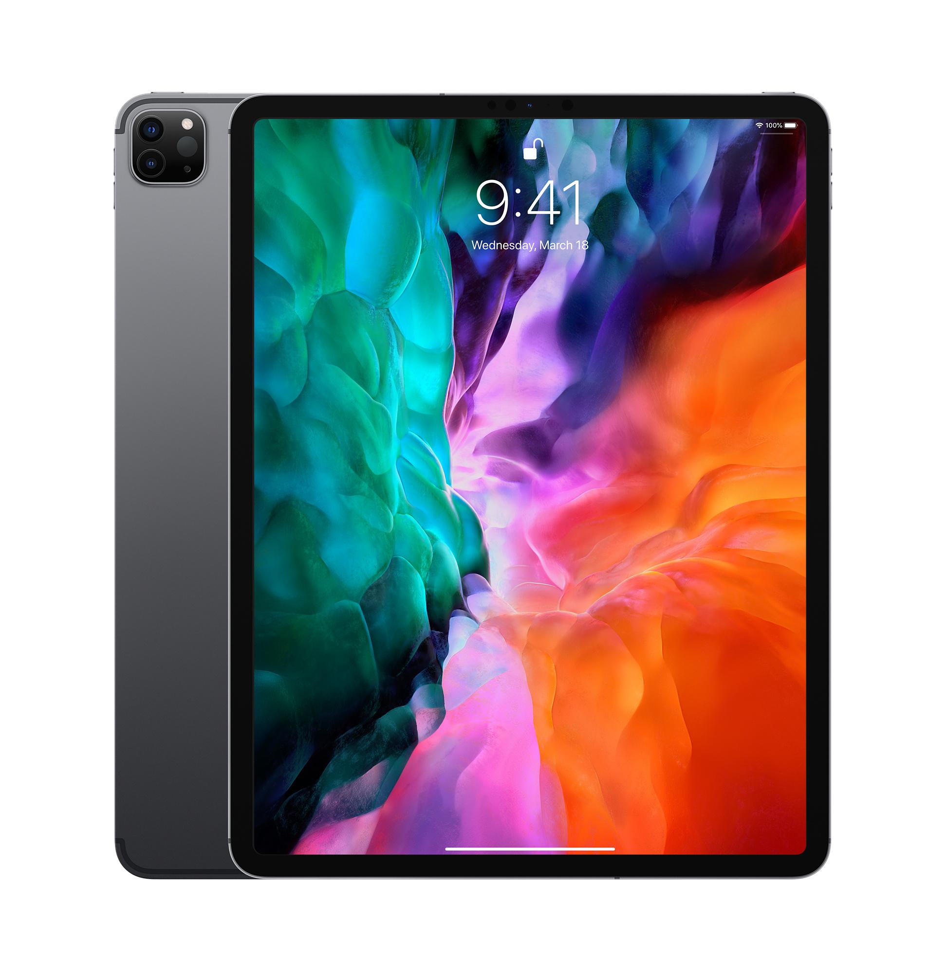 12 9 Inch Ipad Pro Wi Fi Cellular 256gb Space Gray Apple