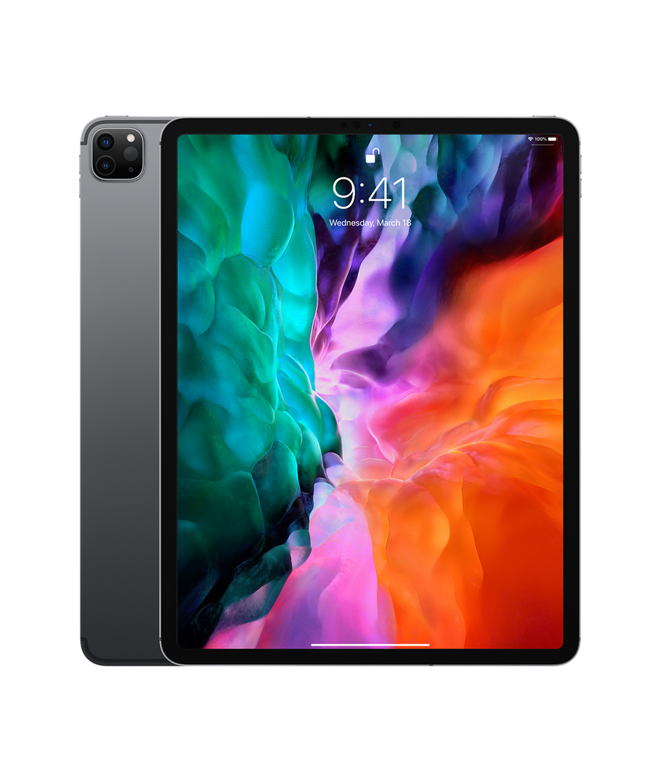 12 9 Inch Ipad Pro Wi Fi Cellular 128gb Space Gray Apple