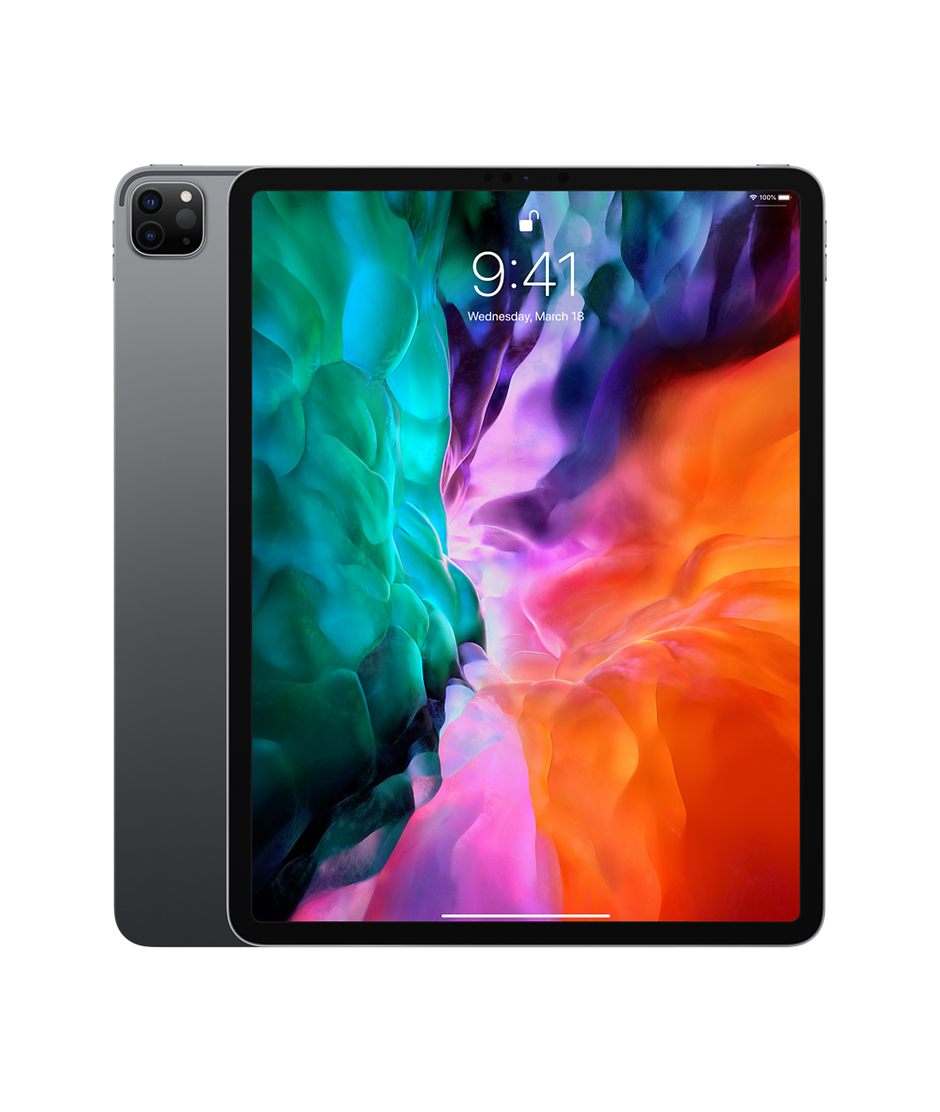 12 9 Inch Ipad Pro Wi Fi 256gb Space Gray Apple