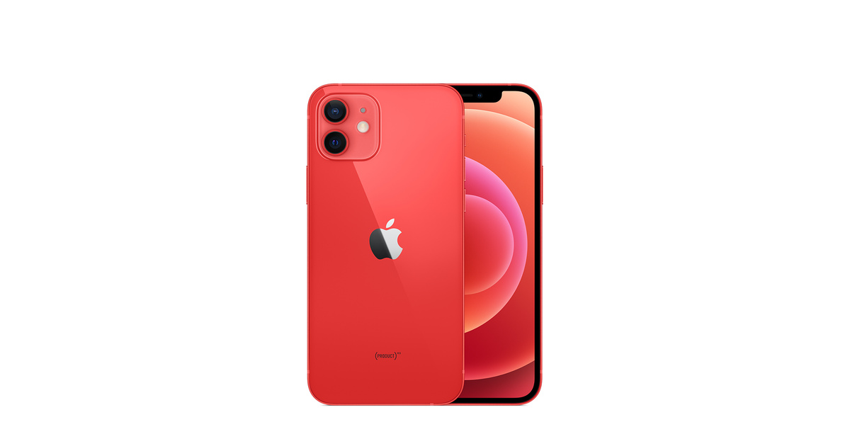 Celular Smartphone Apple iPhone 12 128gb Vermelho - 1 Chip