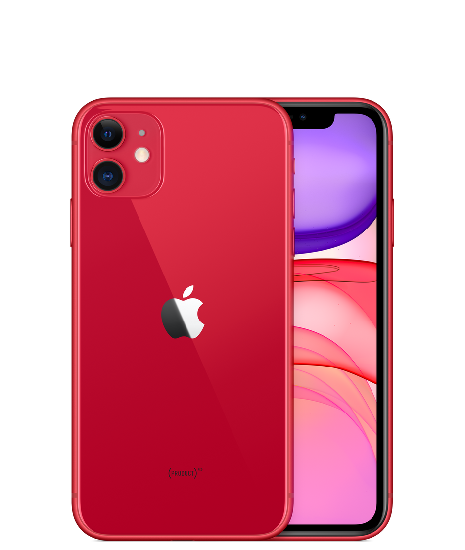 Iphone 11 64gb Product Red Apple