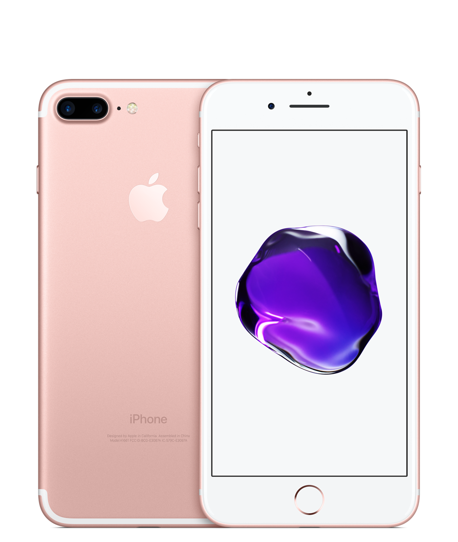 iPhone 7 Plus 128GB Rose Gold (GSM) AT&T