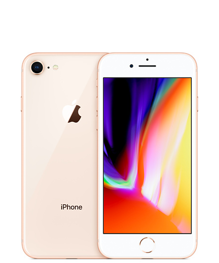 iPhone 8 64GB Gold Unlocked - Apple