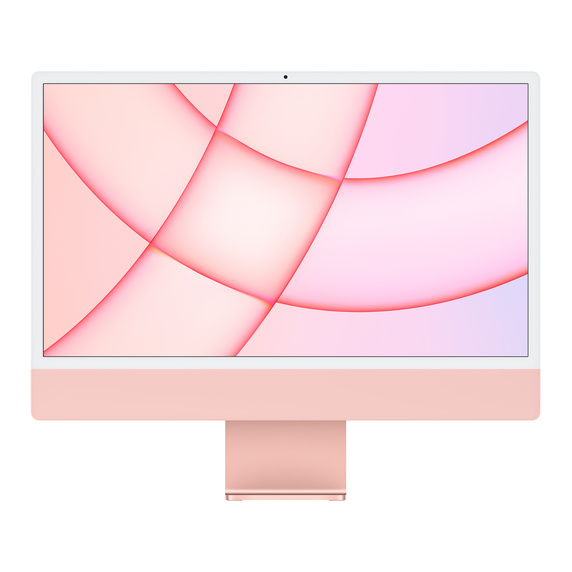 Refurbished 24-inch iMac Apple M1 Chip with 8‑Core CPU and 8‑Core GPU, Gigabit Ethernet - Pink