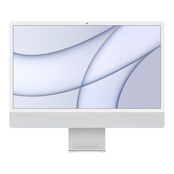 Refurbished 24-inch iMac Apple M1 Chip with 8‑Core CPU and 8‑Core GPU, Gigabit Ethernet - Silver