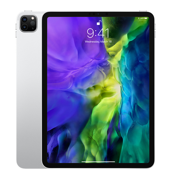 Refurbished 11-inch iPad Pro Wi-Fi 128GB - Silver (2nd Generation)