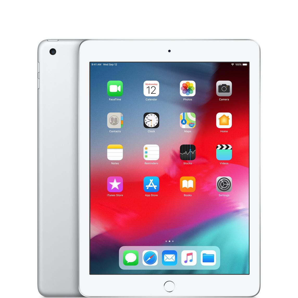 Refurbished iPad Wi-Fi 128GB - Silver (6th Generation) - Apple