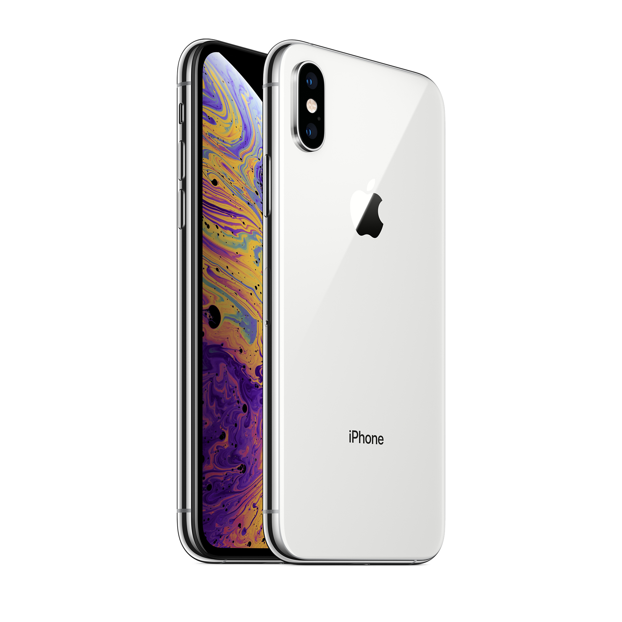 Refurbished iPhone XS 256GB - Silver (Unlocked) - Apple