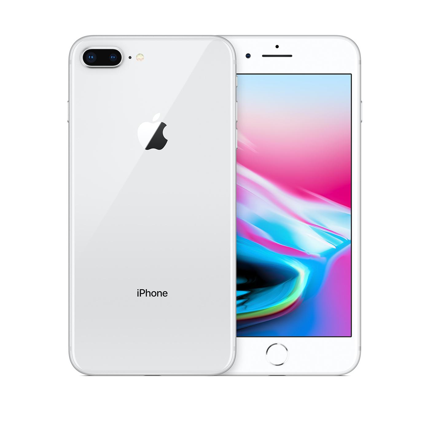 Refurbished Iphone 8 Plus 256gb Silver Unlocked Apple
