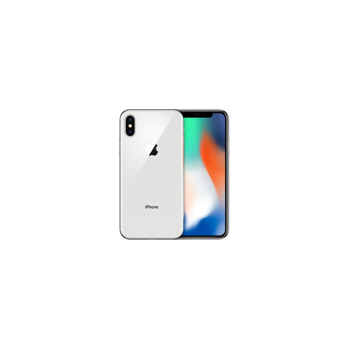 Refurbished Iphone X 256gb Silver Unlocked Apple