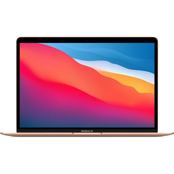 Refurbished 13.3-inch MacBook Air Apple M1 Chip with 8‑Core CPU and 7‑Core GPU - Gold