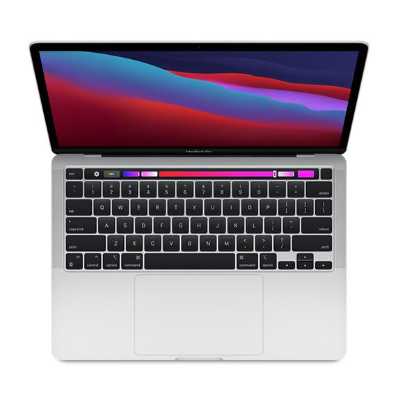 Refurbished 13.3-inch MacBook Pro Apple M1 Chip with 8‑Core CPU and 8‑Core GPU - Silver