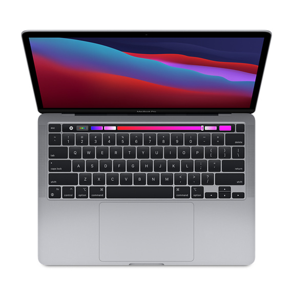 Refurbished 13.3-inch MacBook Pro Apple M1 Chip with 8‑Core CPU and 8‑Core GPU - Space Gray