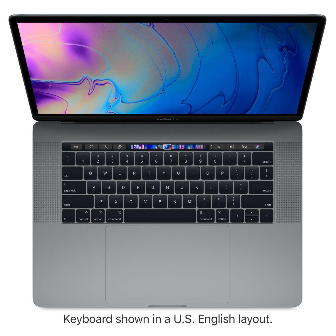 Refurbished 15.4 inch MacBook Pro 2.9GHz 6 core Intel Core i9 with Retina display and Radeon Pro Vega 20 Space Gray