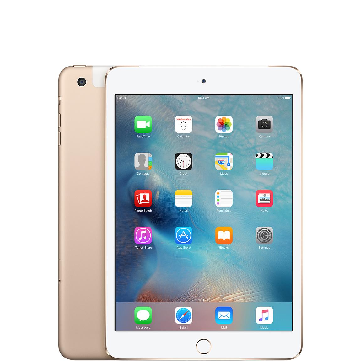Refurbished Ipad Mini 4 Wi Fi Cellular 64gb Gold Apple Ca