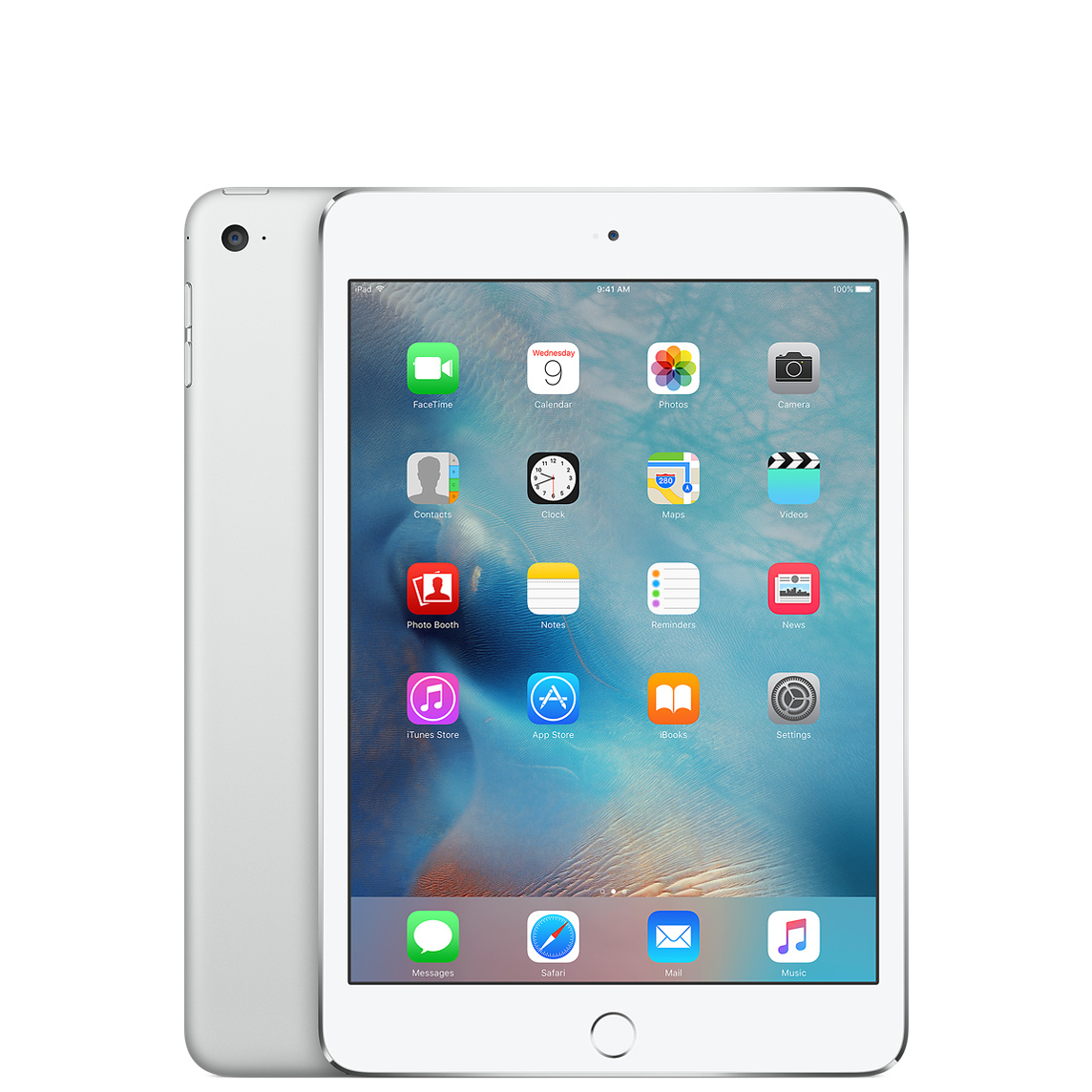 Refurbished iPad mini 4 Wi-Fi 128GB - Silver